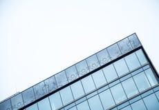Λεπτομέρειες προσόψεων ενός σύγχρονου κτηρίου γυαλιού Στοκ φωτογραφία με δικαίωμα ελεύθερης χρήσης