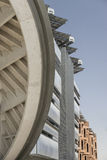 Λεπτομέρειες προσόψεων πόλεων Masdar Στοκ φωτογραφία με δικαίωμα ελεύθερης χρήσης