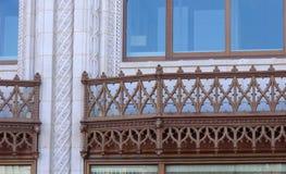 Λεπτομέρειες σε ένα κτήριο στο συνεχές ρεύμα Washinton Στοκ εικόνα με δικαίωμα ελεύθερης χρήσης