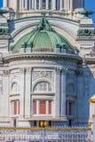 Λεπτομέρειες της αίθουσας θρόνων Anantasamakhom, παλάτι Dusit, Μπανγκόκ, Ταϊλάνδη: χτισμένος από τα ιταλικά άσπρα μάρμαρα στα ιτα Στοκ φωτογραφία με δικαίωμα ελεύθερης χρήσης