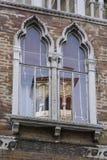 Λεπτομέρειες της γραφικής και ρομαντικής πόλης της Βενετίας Venezia, Ιταλία Στοκ Φωτογραφίες
