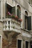 Λεπτομέρειες της γραφικής και ρομαντικής πόλης της Βενετίας Venezia, Ιταλία Στοκ Εικόνα