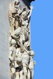 Λεπτομέρειες της θριαμβευτικής αψίδας de λ Etoile ( Στοκ Φωτογραφίες