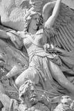 Λεπτομέρειες της θριαμβευτικής αψίδας de λ Etoile Στοκ φωτογραφία με δικαίωμα ελεύθερης χρήσης