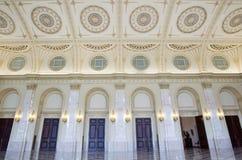 Λεπτομέρειες της κλασσικής αρχιτεκτονικής στο δωμάτιο θρόνων Στοκ Εικόνες