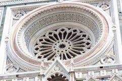 Λεπτομέρειες της Σάντα Μαρία del Fiore Στοκ Εικόνες