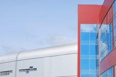 Λεπτομέρειες της σύγχρονης αρχιτεκτονικής Στοκ εικόνες με δικαίωμα ελεύθερης χρήσης
