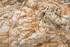 Λεπτομέρειες της σύστασης πετρών Στοκ Εικόνες