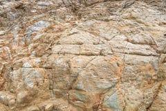 Λεπτομέρειες της σύστασης πετρών Στοκ Εικόνα