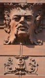 Λεπτομέρειες της τέχνης Nouveau Στοκ Φωτογραφίες