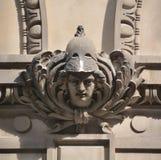 Λεπτομέρειες της τέχνης Nouveau Στοκ εικόνες με δικαίωμα ελεύθερης χρήσης