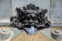 Λεπτομέρειες της τέχνης Nouveau Στοκ εικόνα με δικαίωμα ελεύθερης χρήσης