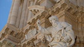 Λεπτομέρειες του αγάλματος αποστόλων στοκ φωτογραφίες
