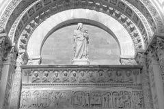Λεπτομέρειες του βαπτιστηρίου του SAN Giovanni στην Πίζα, Ιταλία Στοκ φωτογραφία με δικαίωμα ελεύθερης χρήσης