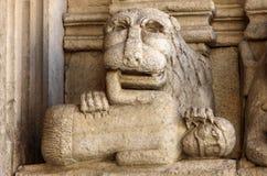 Λεπτομέρειες του καθεδρικού ναού δυτικού πύύ Αγίου Trophime σε Arles, Γαλλία Bouches-du-Ροδανός, Στοκ Εικόνες