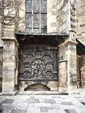 Λεπτομέρειες του καθεδρικού ναού του ST Stephens στοκ φωτογραφίες