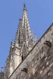 Λεπτομέρειες του καθεδρικού ναού της Βαρκελώνης στο γοτθικό τέταρτο, Ισπανία στοκ φωτογραφία με δικαίωμα ελεύθερης χρήσης