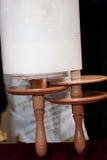 Λεπτομέρειες του κυλίνδρου Torah Στοκ Εικόνα