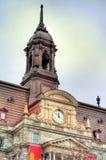 Λεπτομέρειες του Μόντρεαλ Δημαρχείο στον Καναδά στοκ εικόνες