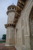 Λεπτομέρειες του τάφου itmad-Ud-Daulah ` s σε Agra, Ουτάρ Πραντές, Ινδία Στοκ φωτογραφίες με δικαίωμα ελεύθερης χρήσης