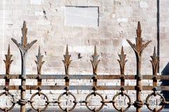 Λεπτομέρειες του φράκτη Basilica Di Aquileia Στοκ Εικόνες