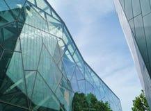 Λεπτομέρειες του archtecture γυαλιού Στοκ εικόνα με δικαίωμα ελεύθερης χρήσης