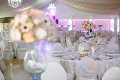 Λεπτομέρειες των γαμήλιων διακοσμήσεων Στοκ Φωτογραφία