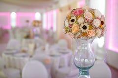 Λεπτομέρειες των γαμήλιων διακοσμήσεων Στοκ Εικόνα