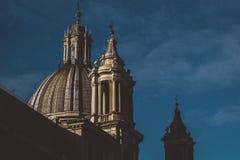 Λεπτομέρειες των κτηρίων της Ρώμης Στοκ φωτογραφία με δικαίωμα ελεύθερης χρήσης