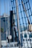 Λεπτομέρειες των ξαρτιών sailboat Στοκ Εικόνα