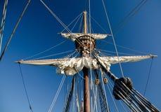 Λεπτομέρειες των ξαρτιών sailboat Στοκ Εικόνες