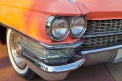 Λεπτομέρειες χρώματος του εκλεκτής ποιότητας αυτοκινήτου Στοκ Φωτογραφίες