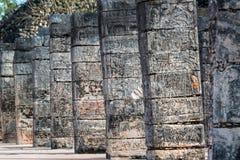 Λεπτομέρειες Chichen Itza Στοκ εικόνες με δικαίωμα ελεύθερης χρήσης