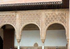 Λεπτομέρειες Myrtles Patio de Los Arrayanes Alhambra Στοκ Εικόνες