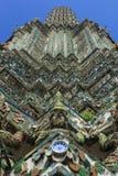 Λεπτομέρειες Phra Prang Wat Arun Στοκ φωτογραφία με δικαίωμα ελεύθερης χρήσης