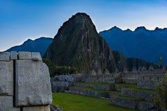 Λεπτομέρειες Picchu Machu Στοκ Εικόνα