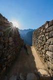 Λεπτομέρειες Picchu Machu Στοκ εικόνα με δικαίωμα ελεύθερης χρήσης