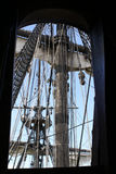 Λεπτομέρειες sailboat ιστών Στοκ φωτογραφία με δικαίωμα ελεύθερης χρήσης