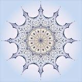 λεπτομερές ενιαίο snowflake Στοκ εικόνα με δικαίωμα ελεύθερης χρήσης