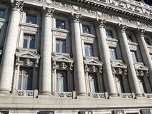Λεπτομερές κτήριο της Νέας Υόρκης Στοκ εικόνες με δικαίωμα ελεύθερης χρήσης