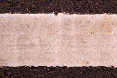 λεπτομερής άσφαλτος δομή οδικού τετραγωνική προσωπικού σχηματισμού Στοκ Εικόνα