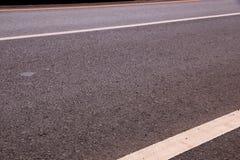 λεπτομερής άσφαλτος δομή οδικού τετραγωνική προσωπικού σχηματισμού Στοκ Φωτογραφία