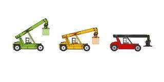 Λεπτομερής διανυσματική απεικόνιση στοιβαχτών προσιτότητας απεικόνιση αποθεμάτων