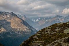 Λεπτομερείς γερμανικές Άλπεις κοιλάδων Στοκ εικόνα με δικαίωμα ελεύθερης χρήσης
