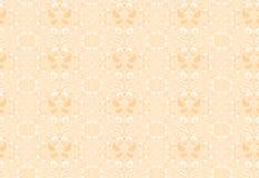 Λεπτό άνευ ραφής σχέδιο με την κομψή διακόσμηση Στοκ Φωτογραφία