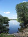 λεπτό καλοκαίρι ποταμών Στοκ εικόνα με δικαίωμα ελεύθερης χρήσης