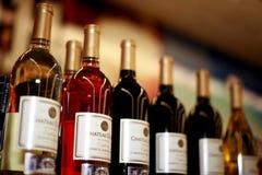 λεπτό κρασί Στοκ Φωτογραφία