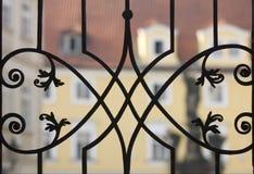 λεπτό μέταλλο φραγών Στοκ εικόνα με δικαίωμα ελεύθερης χρήσης