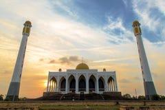 Λεπτό μουσουλμανικό τέμενος Songkhla Στοκ Εικόνα