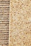 λεπτό τριζάτο ψωμί σίκαλης στοκ εικόνα με δικαίωμα ελεύθερης χρήσης